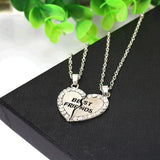 Kalung 2 in 1 - Liontin Best Friend Jantung