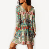 Casual Beach And Sexy Dress - Bohemian Dress - Cantik Menawan