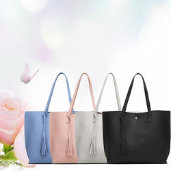 Fashion Women's Bag European and American style Simple Tote Bag Shoulder Portable Ladies Handbags