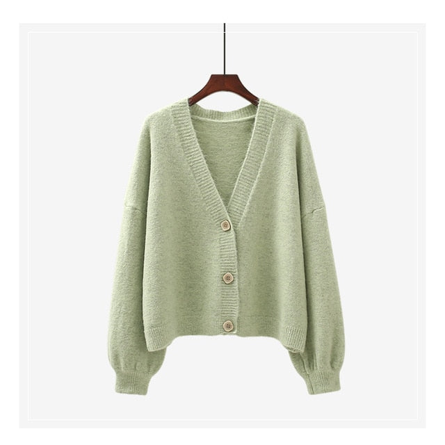 H.SA 2021 Women Cardigans Winter Cashmere White Sweater New Year Sweater Chic Tops Woman's Sweater Cardigans jersey knit Jumpers
