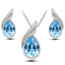 Austrian Crystal Jewelry Sets - Silver And Gold Plated Jewelry Sets