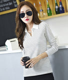 Korean Style T-Shirt Cotton New Plus Size Tshirt - Cantik Menawan
