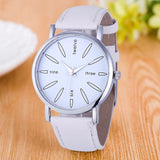 Jam Wanita Hot Vico Fashion - Stainless Steel Kulit Band Quartz Analog - Cantik Menawan