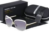 Kacamata Wanita Luxury Sunglasses Brand Designer Cool  UV400 + Box - Cantik Menawan