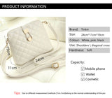 Tas Wanita Cantik Tinkin Small Shell Bag Fashion Embroidery Shoulder Bag-Messenger Bag - Cantik Menawan