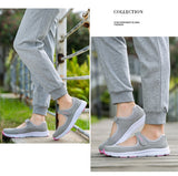 Sneakers Wanita Model Terbaru Healthy Walking Shoes Outdoor Mesh Antislip Sport Running - Cantik Menawan