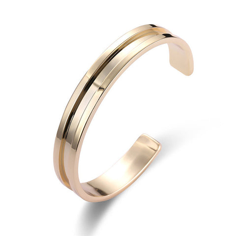 Bangle Cantik - Titanium Stainless Steel - Cantik Menawan