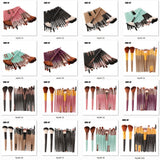 Makeup Brushes Kuas Makeup Kecantikan 6/15/18Pcs Set Cosmetic Powder Eye Shadow Foundation Blush Blending - Cantik Menawan