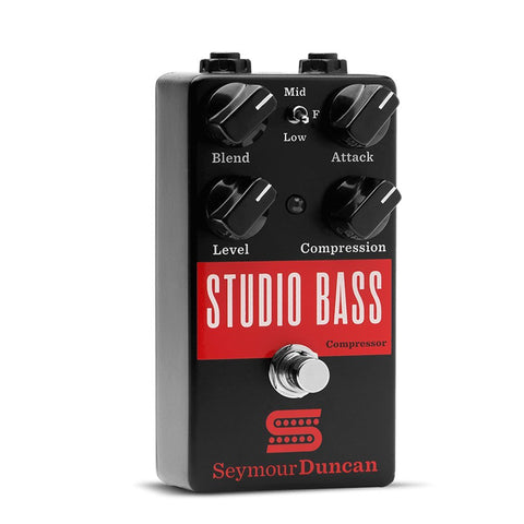 Seymour Duncan Studio Bass Compressor Effects Pedal,