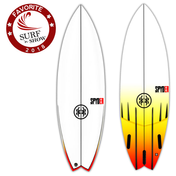 Spyder Surfboards - Fireball Fish