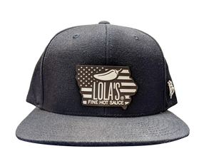 Lola's Signature Iowa Patriot Patchwork Snapback