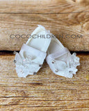 Baby Girls Christening Shoes Z-734