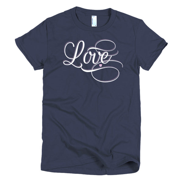Love - Short sleeve women's t-shirt