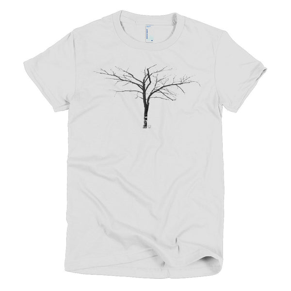 winter - Short sleeve women's t-shirt