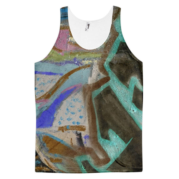 throwback inverse - Classic fit tank top