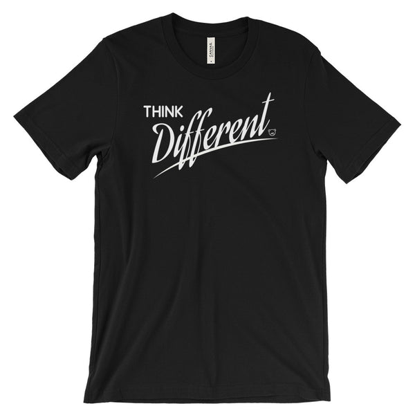 Think Different - Unisex short sleeve t-shirt