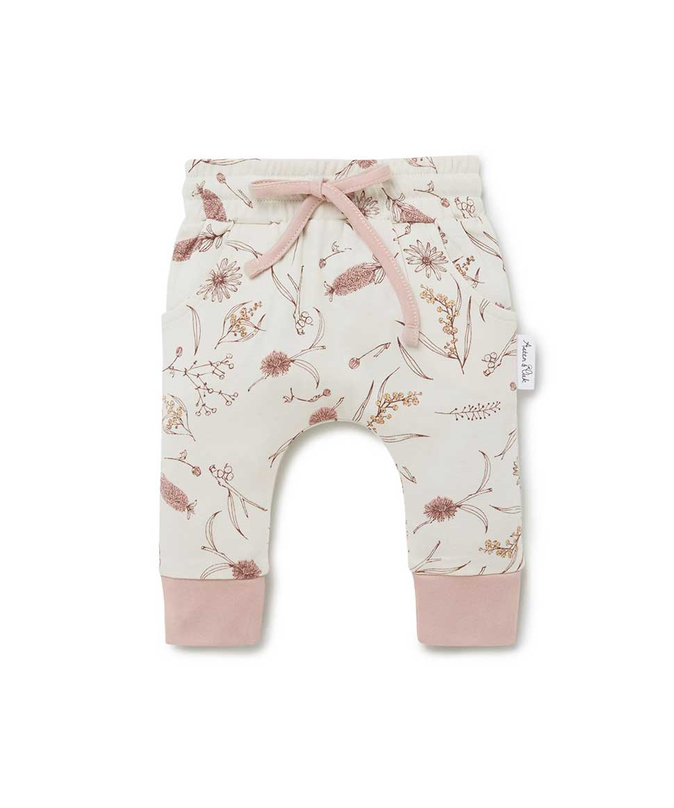 Native Flora Harem Pants Aster & Oak Baby Preggi Central Maternity Shop