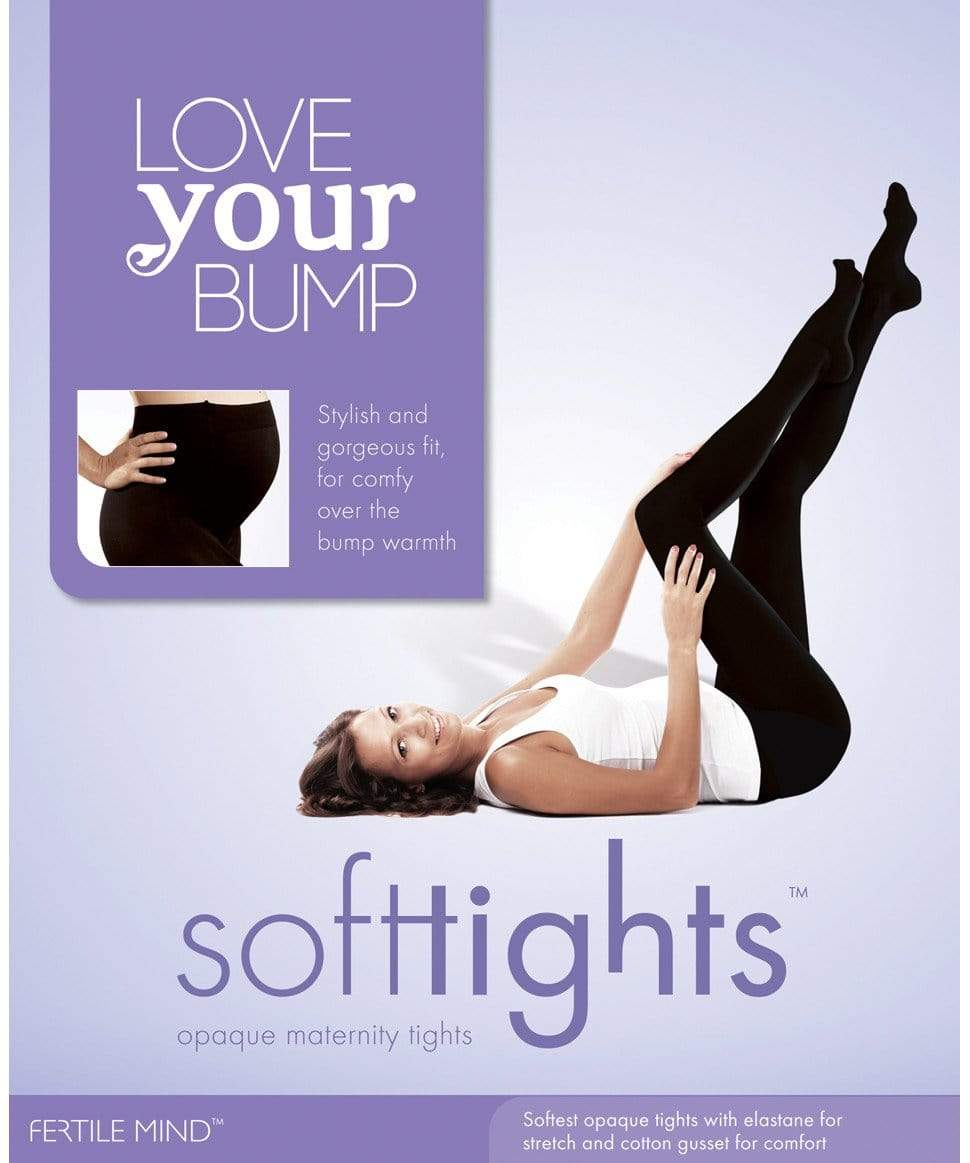 Love your Bump Soft Tights with Feet