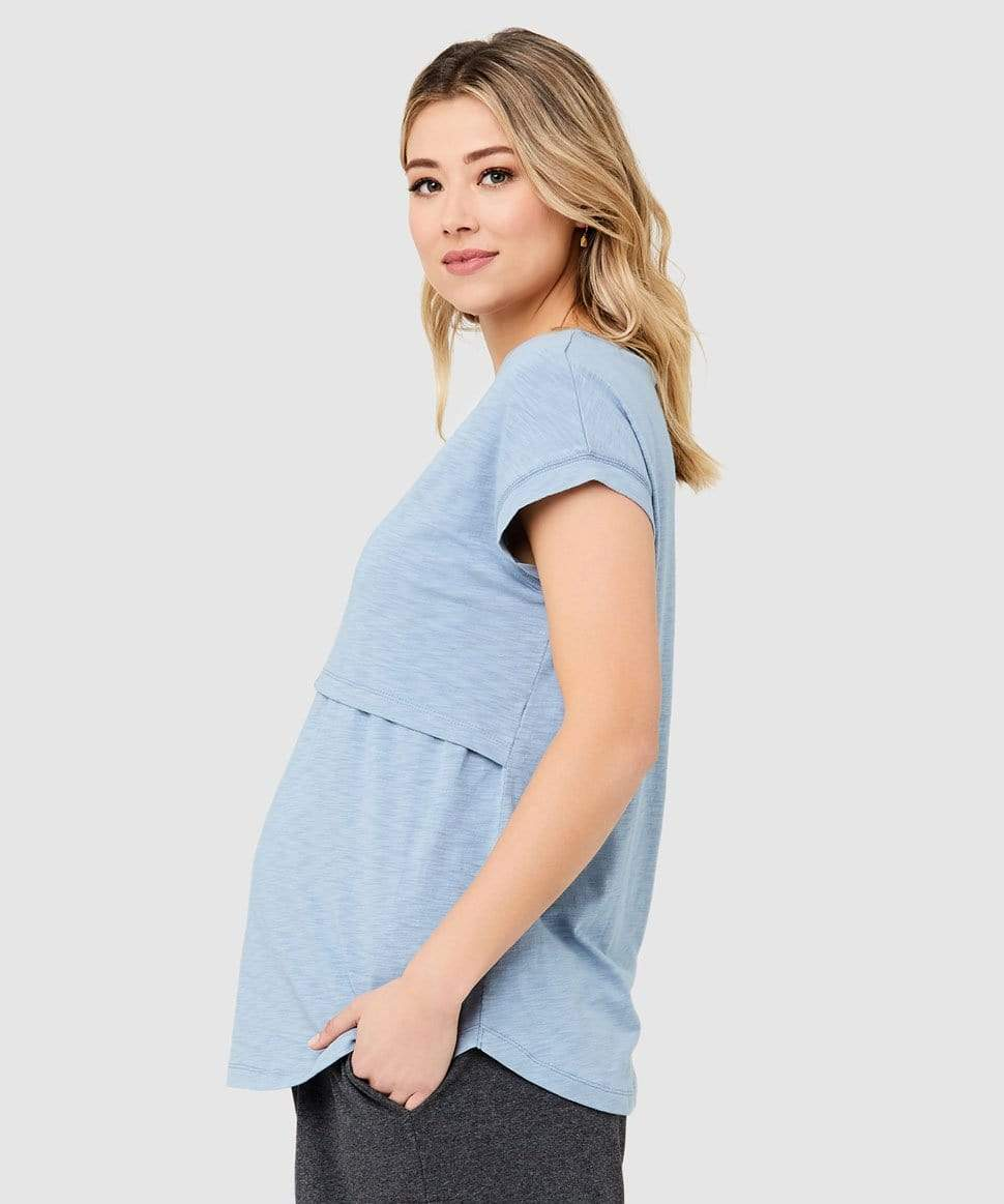 Richie Nursing Tee Ripe Maternity Maternity and Nursing Preggi Central Maternity Shop