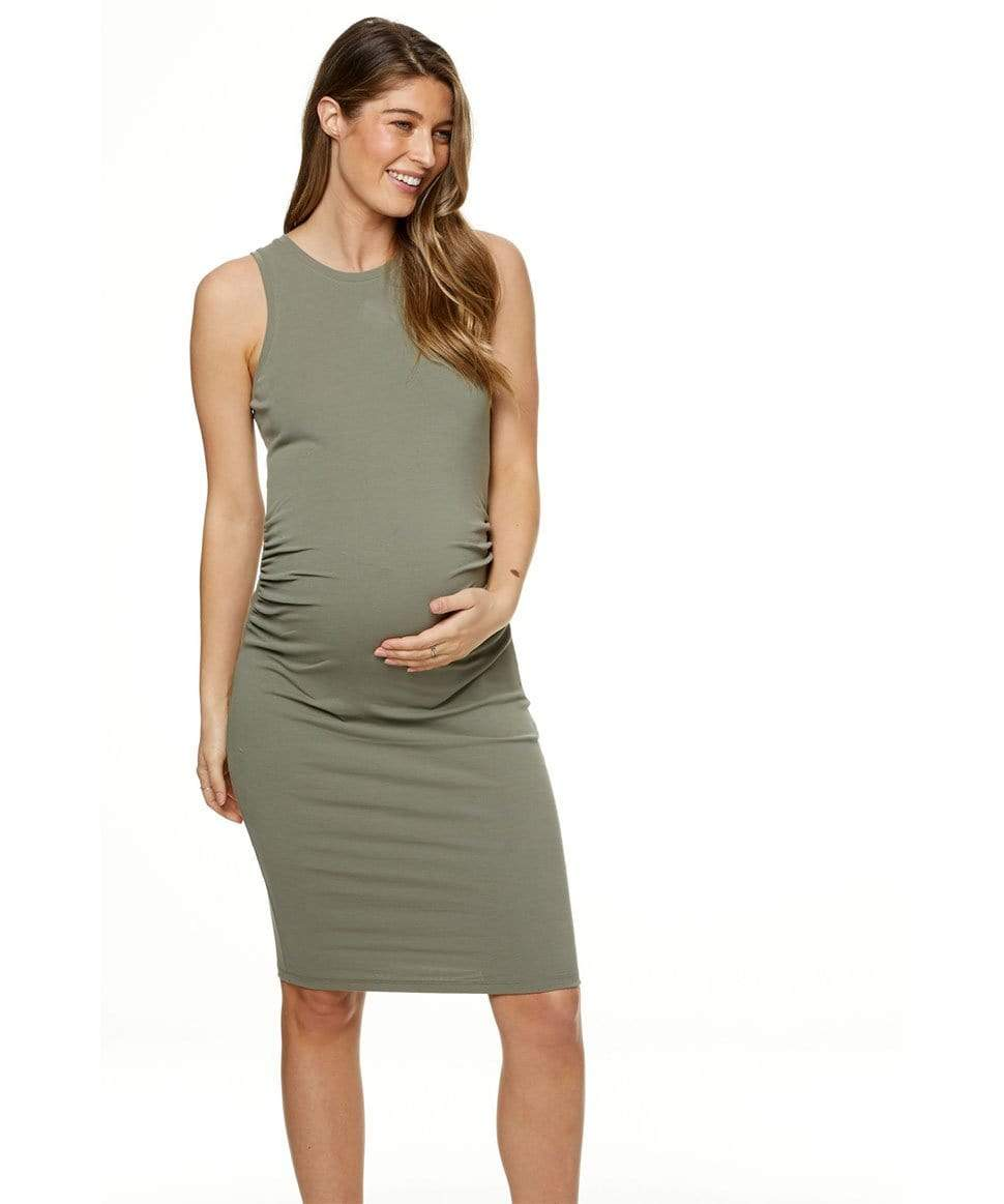 Any day now dress BAE the label Maternity Preggi Central Maternity Shop