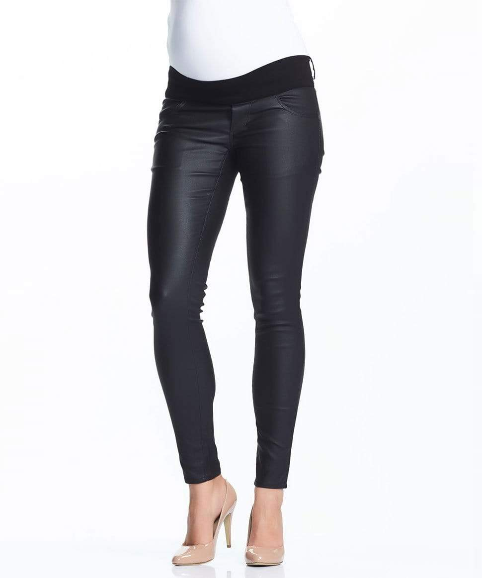 Coated Skinny Maternity Pant