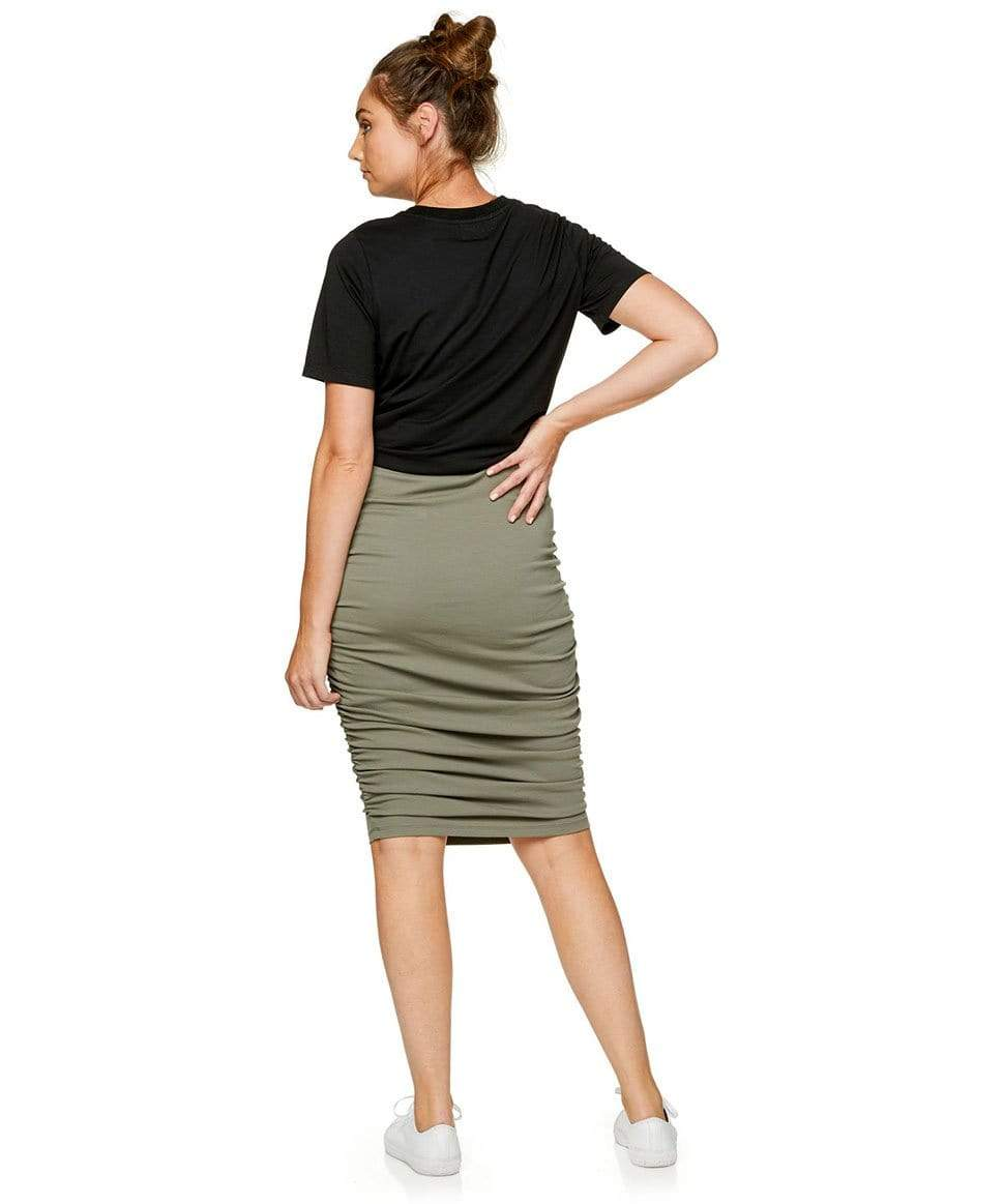 Count Your Blessings Skirt BAE the label Maternity Preggi Central Maternity Shop