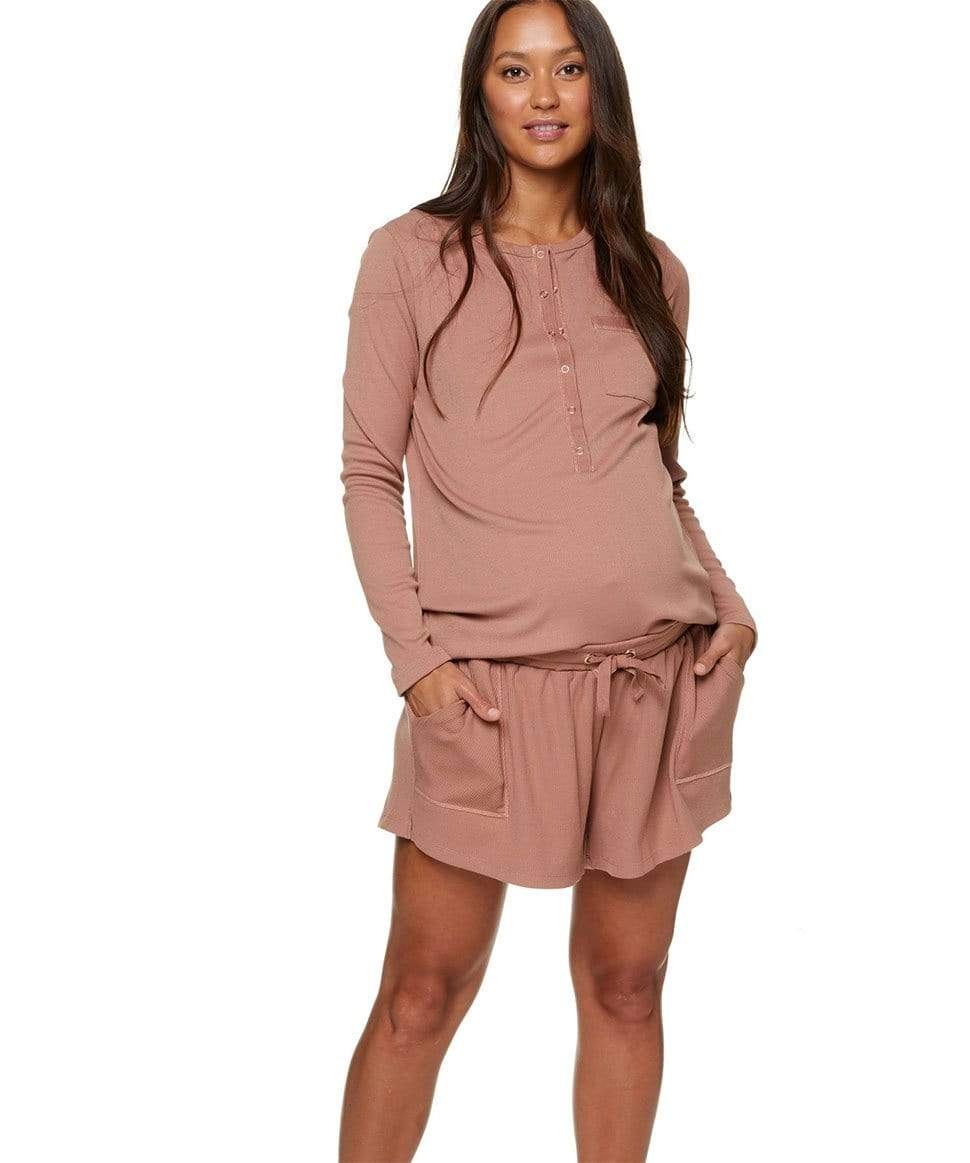 Day To Night Lounge Short BAE the label Maternity Preggi Central Maternity Shop