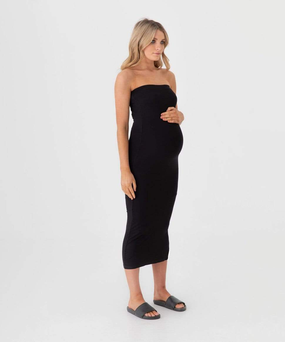 Margot Split Midi Dress/Skirt Preggi Central Maternity Preggi Central Maternity Shop