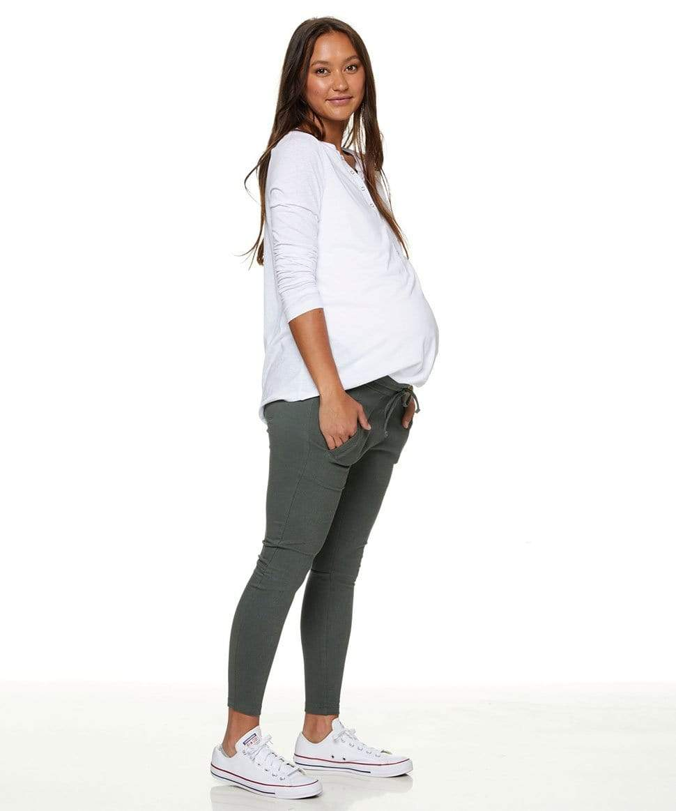 Step Again Pant BAE the label Maternity Preggi Central Maternity Shop