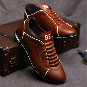 New England men's trend of men's shoes casual shoes leather shoes