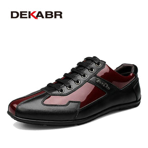 High Quality Autumn Winter Genuine Leather Men Shoes Fashion Shoes Men Casual