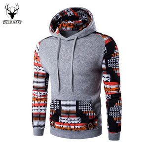 2017 New Spring Men Hoodies Patchwork Male Hoodie