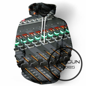 Disco 3D  Hoodies Hip Hop Hipster Jumper Casual Sportwear Men Women