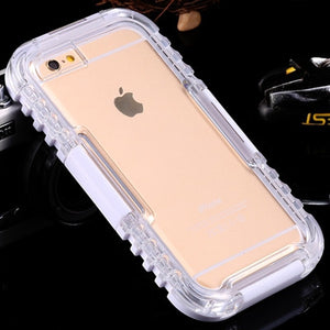 Waterproof Heavy Duty Hybrid Swimming Dive Case For Apple iPhone 6 6S Plus 5S SE Water/Dirt/Shock Proof Phone Bag