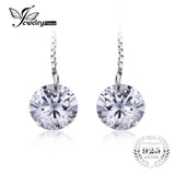 Sterling 925 Silver Cubic Zirconia Drop Earrings