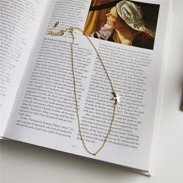Sparrow Some Change Gold Plated Sterling Silver Necklace