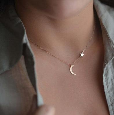 You're My Moon and Stars Necklace
