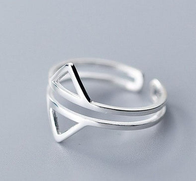 Point to Me Sterling Silver Ring