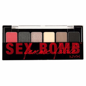 NYX The Sex Bomb Eye Shadow Palette 6 Colors ( TSB01)