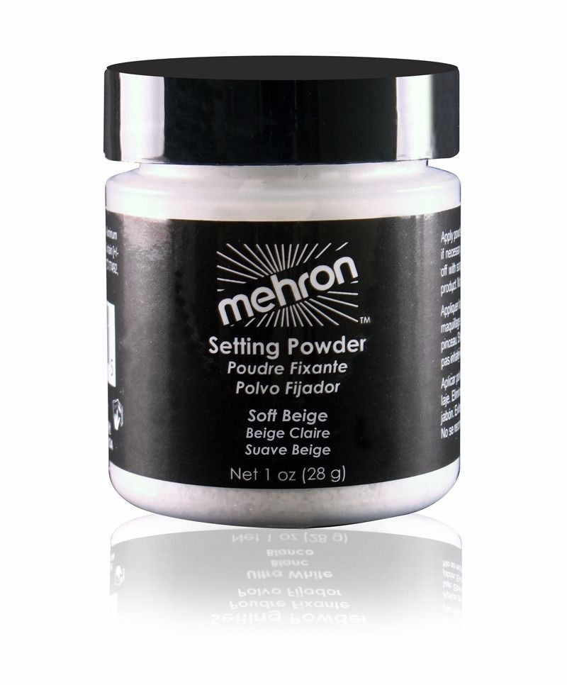 MEHRON ULTRAFINE SETTING FIXING POWDER PROFESSIONAL FACE MAKEUP~PICK A COLOR 1OZ