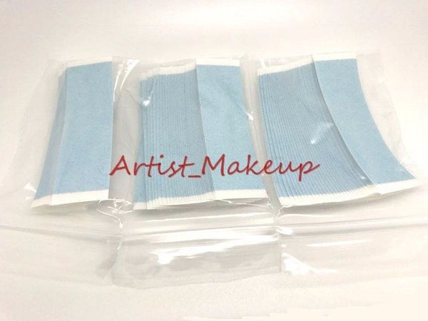 WALKER STRAIGHT STRIP DOUBLE SIDED TAPE BLUE LINER DULL~LACE WIGS - 108 PCS