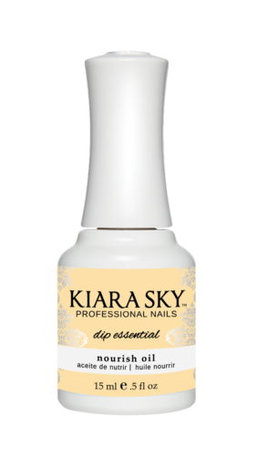 Kiara Sky Dip Powder Essentials Bond,Base,Seal,Top,Nourish Oil,Brush Saver~ Pick