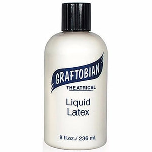 Graftobian Liquid Latex Costume Makeup Clear 8 oz