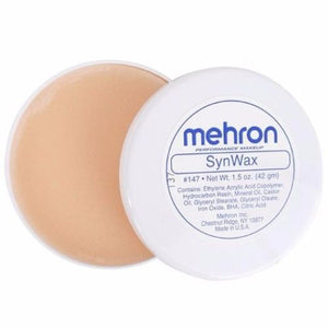 MEHRON SYNWAX MODELING EYEBROWS BLOCKER WAX FX SPECIAL EFFECTS MAKEUP 1.5 OZ
