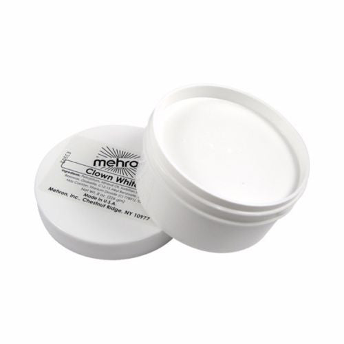 Mehron Clown White Face Paint 7 oz Costume Stage Theatrical makeup