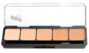 Graftobian HD Glamour Crème Foundations Palette, Warm #2