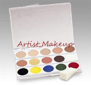 Mehron Mask Cover 15 Color Palette Set 102