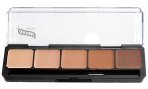 Graftobian HD Glamour Crème Foundations Palette, Cool #2