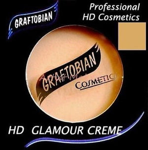 Graftobian HD Glamour Crème Foundation Temptress (N) 1/2 oz Bronze #2