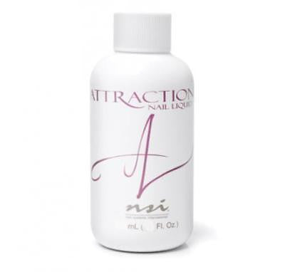 NSI Attraction Nail Liquid 2 fl oz,  MMA Free - Made in USA